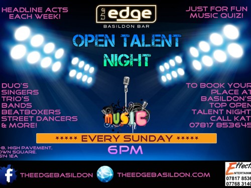 Open Talent Night - Every Sunday