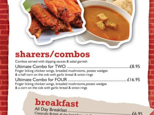 menu starters